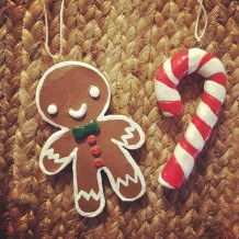 feo gingerbread and candy cane